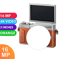 New Panasonic Lumix DC-GF10 Body (kit box) Orange