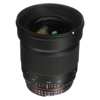 New Samyang AE 24mm f/1.4 ED AS UMC (Nikon) Lens