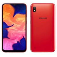 New Samsung Galaxy A10 Dual SIM 16GB 4G LTE Smartphone Red