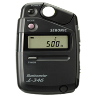 New Sekonic Illuminometer i-346 Light Meter DSLR Camera Kit