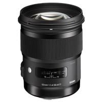 New Sigma 50mm f/1.4 DG HSM Art Lens for Sony A
