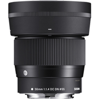 New Sigma 56mm f/1.4 DC DN Contemporary Lens for Canon EF-M