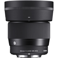 New Sigma 56mm f/1.4 DC DN Contemporary Lens for Sony E