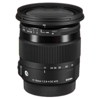 New Sigma 17-70mm f/2.8-4 DC OS HSM Contemporary Canon Lens