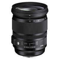 New Sigma 24-105mm f/4 DG OS HSM Art Lens (Sony A)