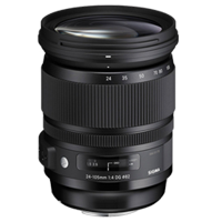New Sigma 24-105mm f/4 DG OS HSM Art Lens (Canon)