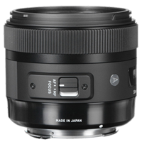 New Sigma 30mm f/1.4 DC HSM Art Lens Canon Mount