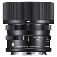 New Sigma 45mm f/2.8 DG DN Contemporary Lens for (L mount)
