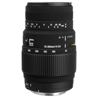 New Sigma 70-300mm F4-5.6 DG MACRO Lens for Canon