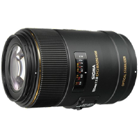New Sigma 105mm f/2.8 MACRO EX DG OS HSM Lens Canon Mount