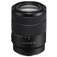 New Sony E 18-135mm F3.5-5.6 OSS Lens