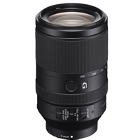 Sony FE 70-300mm F4.5-5.6 G OSS Black Lens