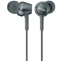 Sony MDR-EX250 In-ear Stereo Headphone Black