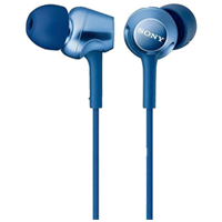 Sony MDR-EX250 In-ear Stereo Headphone Blue