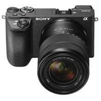 New Sony Alpha A6500 (18-135mm) Kit Digital SLR Cameras Black