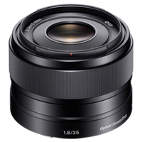 New Sony E 35mm F1.8 OSS Lens