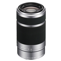 New Sony E 55-210mm F4.5-6.3 OSS Silver Lens