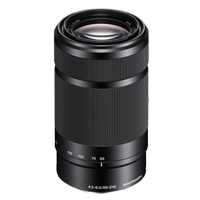 New Sony E 55-210mm F4.5-6.3 OSS Black Lens