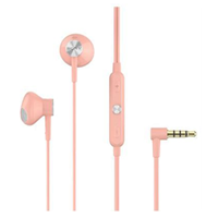 New Sony STH-32 In-Ear Stereo Headphone Pink