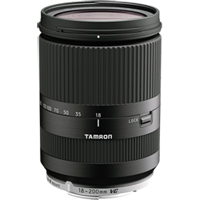 New Tamron 18-200mm f/3.5-6.3 Di III VC Lens for Canon EOS M Black