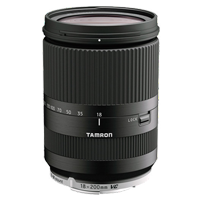 New Tamron 18-200mm F/3.5-6.3 Di III VC Lenses For Canon Black