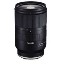 New Tamron 28-75mm F2.8 Di III RXD Lens for Sony-E