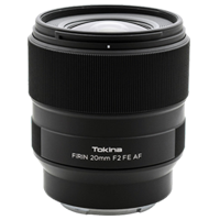 New Tokina FiRIN 20mm f/2 FE AF Lens Sony
