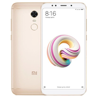 New Xiaomi Redmi 5 Plus Dual SIM 32GB 4G LTE Smartphone Gold