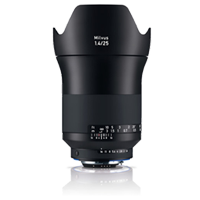 New Carl Zeiss Milvus ZF.2 1.4/25mm Lens For Nikon