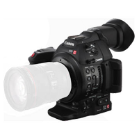 New Canon EOS C100 Mark II Body EF Cinema EOS Camera with CMOS AF