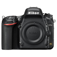 New Nikon D750 DSLR 24MP Body Black