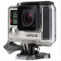 New GoPro HERO4 Silver Edition