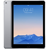 Used As Demo Apple iPad Air 2 16GB 4G Tablet Grey (6 month warranty)