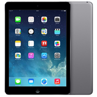 Used as demo Apple iPad Air 16GB 4G LTE Tablet Black (6 month warranty + 100% Genuine)