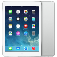 Used as demo Apple iPad Air 16GB 4G LTE Tablet Silver (6 month warranty + 100% Genuine)