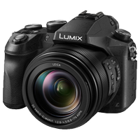 New Panasonic LUMIX DMC-FZ2500 20.1MP Digital Camera Black