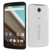 Motorola Google Nexus 6 32GB 4G LTE Smartphone White (1 YEAR NEW ZEALAND WARRANTY)