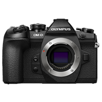 New Olympus OM-D E-M1 20MP Mark II Body Black