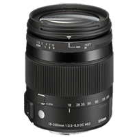 New Sigma 18-200mm F3.5-6.3 DC MACRO OS HSM Lens C Canon