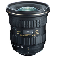 New Tokina AT-X 11-20mm f/2.8 PRO DX Lens Canon